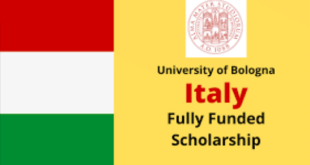 Fully Funded Scholarship at the University of Bologna
