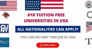 Tuition Free Universities and Colleges in USA and How to Apply Each