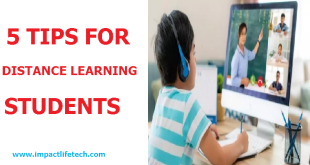5 Tips for Distance Learning Students