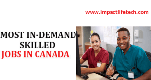 In-Demand Jobs in Canada For International Students