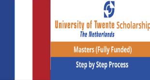 University of Twente Scholarship in Netherlands