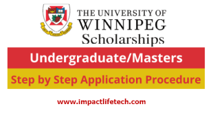 President's Scholarship for International Students at University of Winnipeg