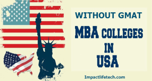 Schools for MBA in USA Without GMAT for International Students