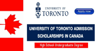 Scholarship at the University of Toronto