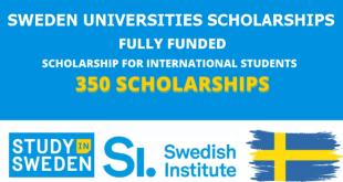 Sweden Universities Scholarships