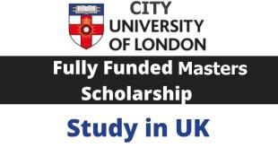 City University of London Scholarship in UK 2022
