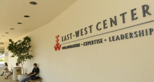 East-West Center Graduate Degree Fellowship in USA 2022