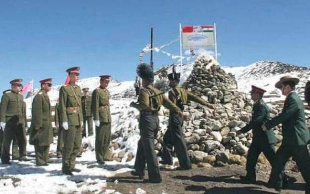 A file photo of the Nathu La border. | Photo Credit: DIPTENDU DUTTA