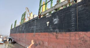 The rejuvenated Mongla port is expanding very rapidly [image by: Soumya Sarkar]