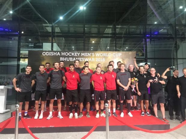 Picture : Hockey India, Belgium Team