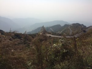 Descent from Darjeeling, West Bengal