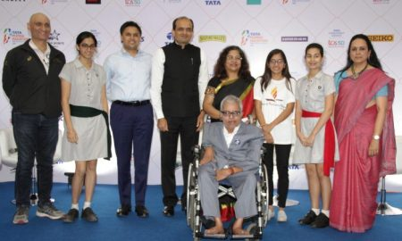 The Fund raisers at the TMM 2019 Philanthropy Meet & Greet on Tuesday, (From Left-Right) - Vivek Singh-MD, Procam International, Simran Chainani-Heal Foundation, Aditya Joshi-Shradha Charitable Trust & Club Foot Medical Foundation, Sudhir Shenoy-Habitate For Humanity India, Dr. Kalpana Apte-Family Planning Association of India, Meera Mehta-Shrimat Rajchandra Love & Care, Tarini Ruia-Hill Foundation, Jayanti Shukla-CEO, United Way Mumbai and Sankara Raman-Amar Seva Sangam.