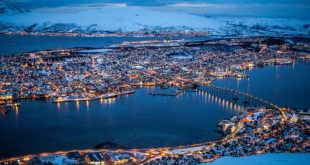Tromsø, Norway, where mayors gathered this week to discuss cooperation on climate change and development in the Arctic (Photo: Jean-Marie Muggianu)