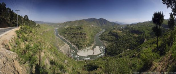 Water sources like the Poonch river are critical in maintaining the hydrology of the region [image by: Ghulam Rasool]