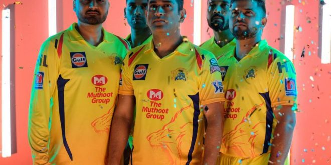 Picture : Twitter / ChennaiIPL