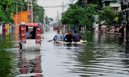 Record breaking rainfall exposed the dysfunctional urban planning and corruption in Patna [image by: Prashant Ravi]