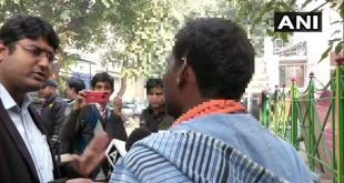 Picture : Twitter / ANI. Brother of Unnao rape victim back to camera
