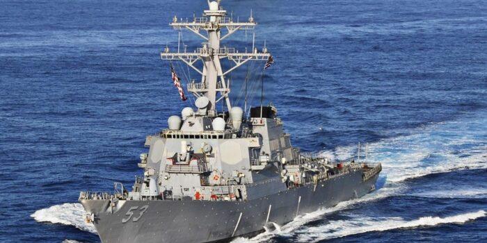 Twitter : US Navy