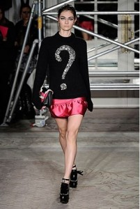 Moschino Cheap and Chic AW 2013 10