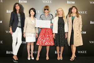 Vogue eds at FNO Tokyo