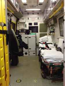 ambulance inside long