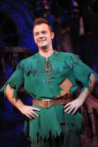 Barney Harwood as Peter Pan PETER PAN 2013-14