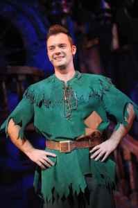 Barney Harwood as Peter Pan PETER PAN 2013-14