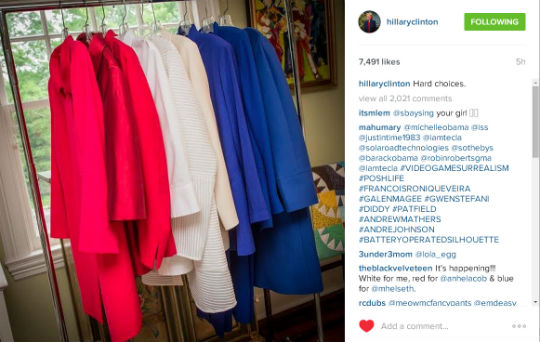 Hillary Clinton Instagram 3