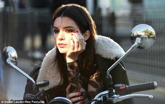 Kendall Estee Lauder-Daily Mail UK 1