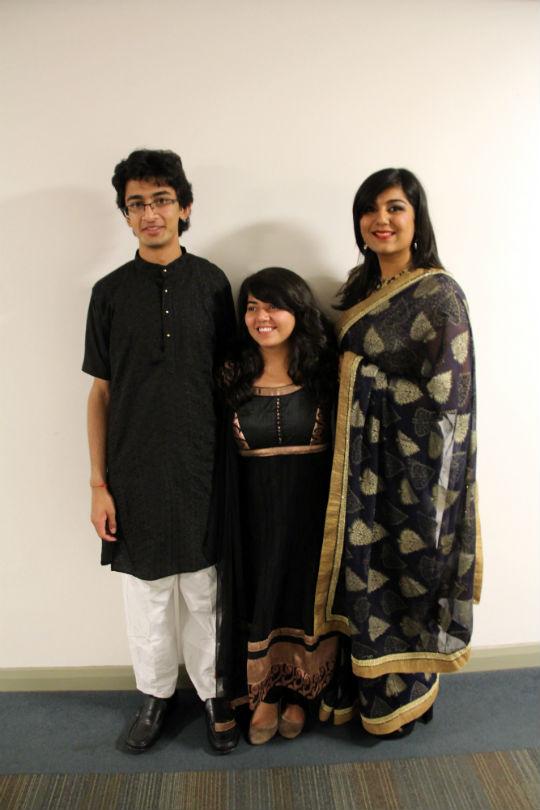 Hinesh, Khyati, Radhika