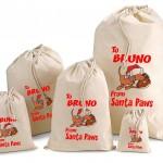 Personalised Pet Santa sacks