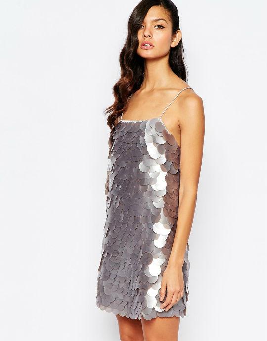 big sequin dress