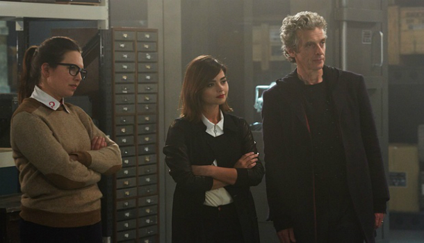 dr who series 9 image