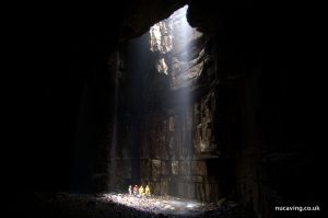 UoN Cavers visit some of most dramatic landscapes in the UK