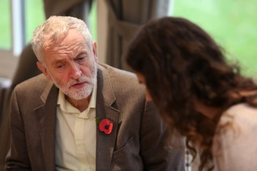 NOAH20161103C1 Labour Leader Jeremy Corbyn visits Beeston Youth Club. Pictured being interviewed by UoN reporter Yasemin. Picture by Andrew Hallsworth, Marlow Photographic.