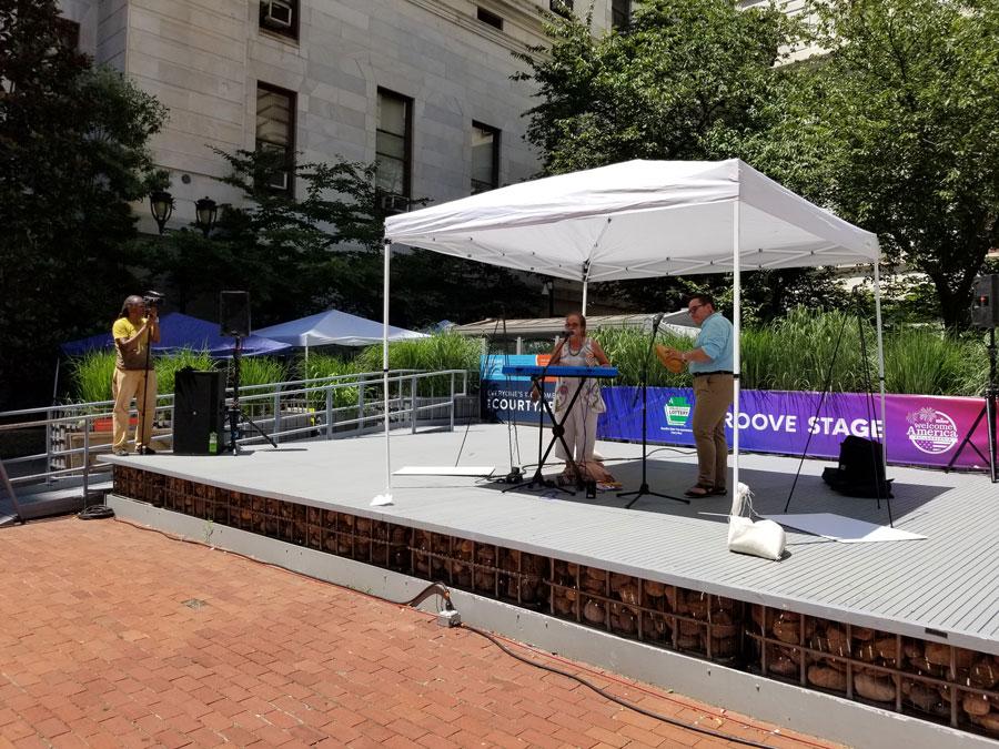 Hispanos son parte del Festival Welcome America de Filadelfia que celebra el Día de la Independencia 5