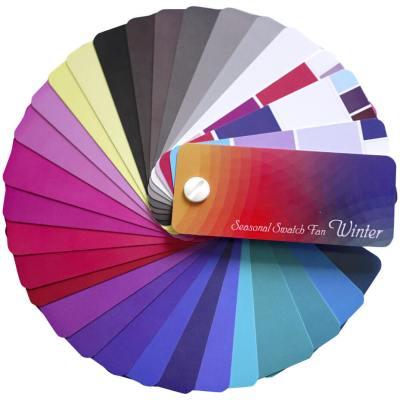kleurenwaaier wintertype