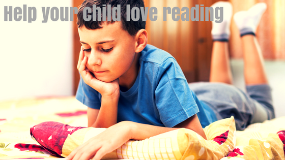 Help your child love reading.