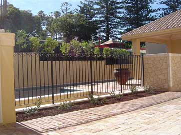 Impact Wrought Iron Balustrades Staircases Pool Fencing