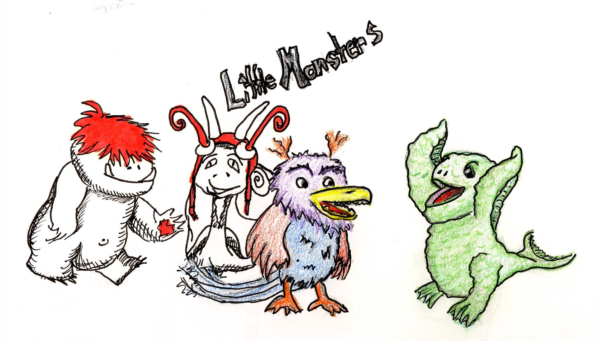 Little Monsters Sketch