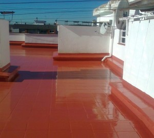 impermeabilització terrat impapol resin Barcelona