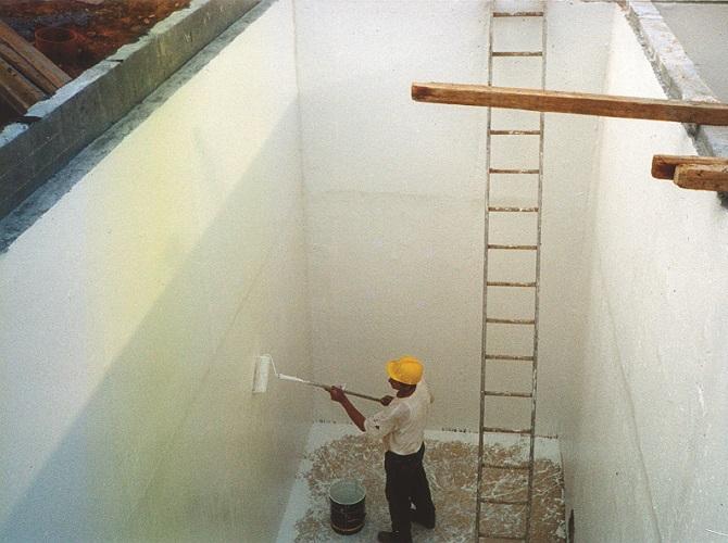 Impermeabilización depósito industrial certificado potabilidad y depósitos resistentes a ácidos y productos químicos