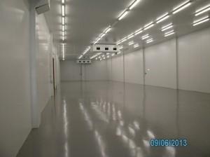 paviment auto anivellant cambra refrigeradora impapol resin