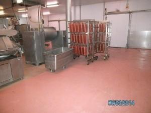 paviment continu multi capa industria alimentària impapol resin