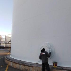manteniment diposit meroil impermeabilitzar port barcelona