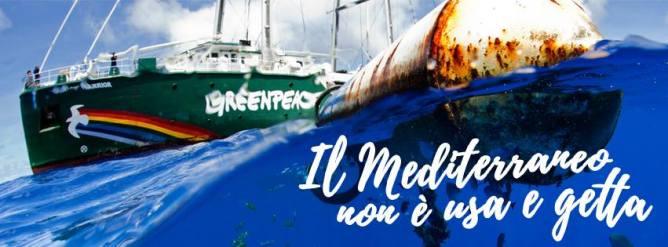 Risultati immagini per meno plastica più mediterraneo