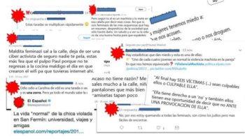 abusos en redes sociales