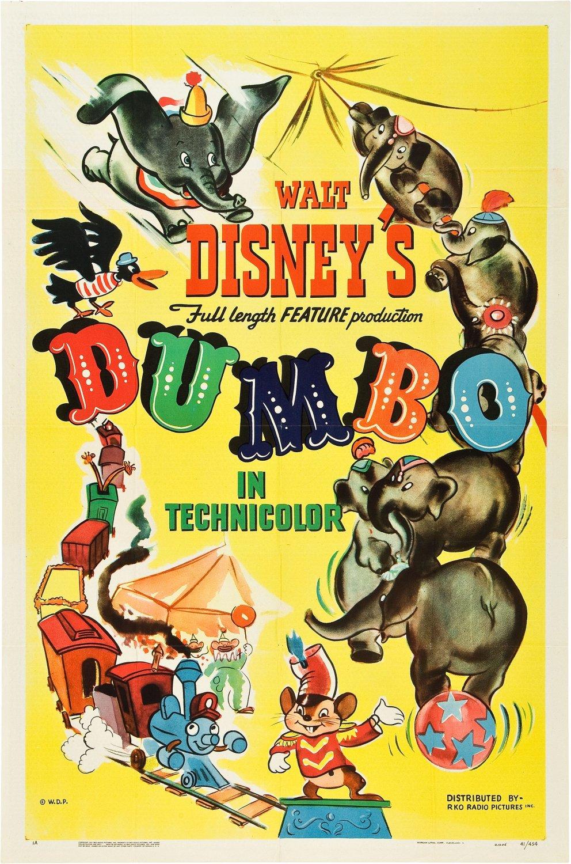 Poster do filme Dumbo (1941)
