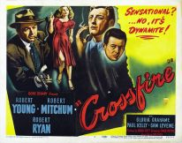 Image result for CROSSFIRE 1947 movie