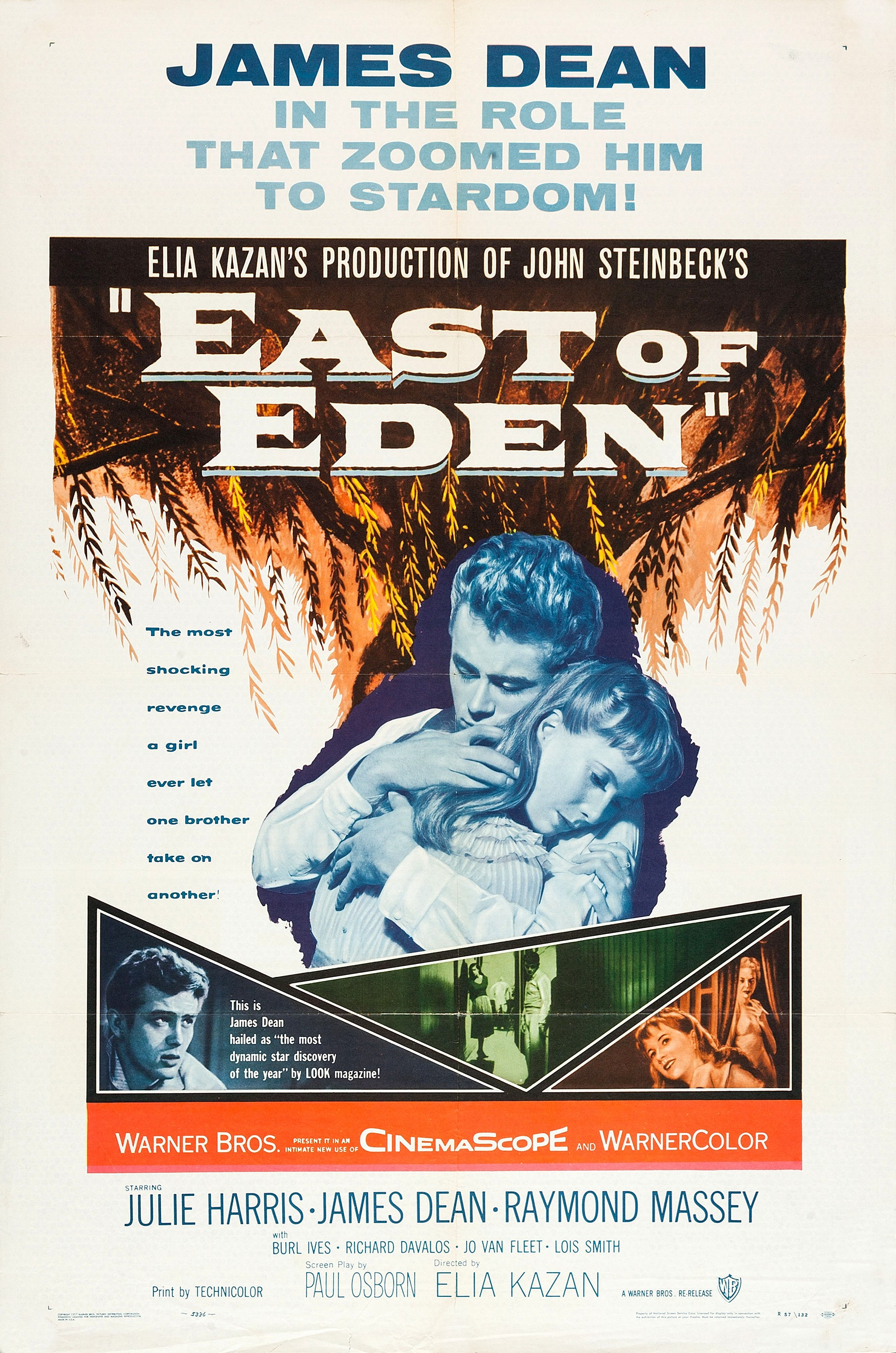 Poster do filme East of Eden